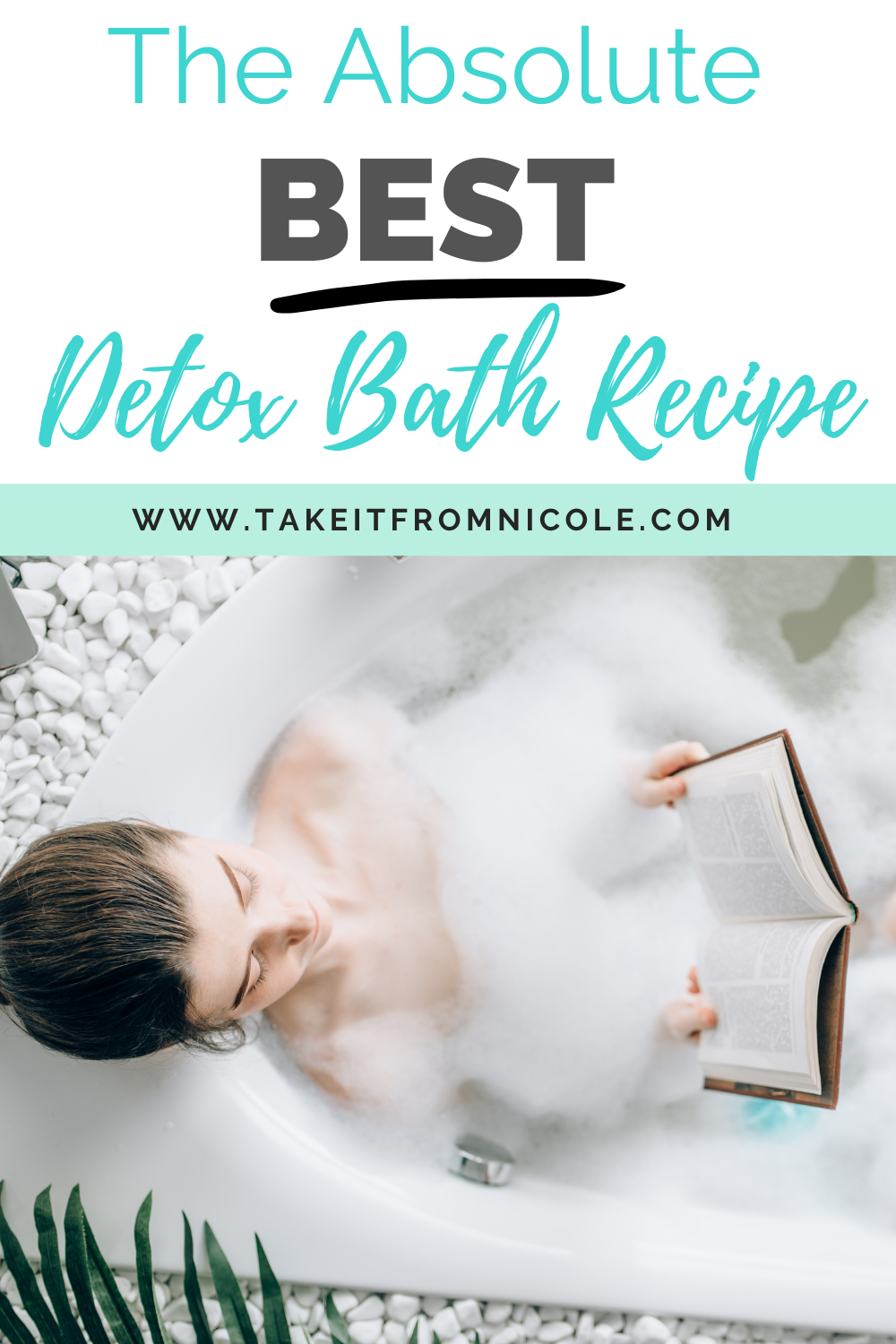 The best detox bath recipe to help you feel better when you are sick. Sweating out the bad stuff and rehydrating with water always makes me feel better.