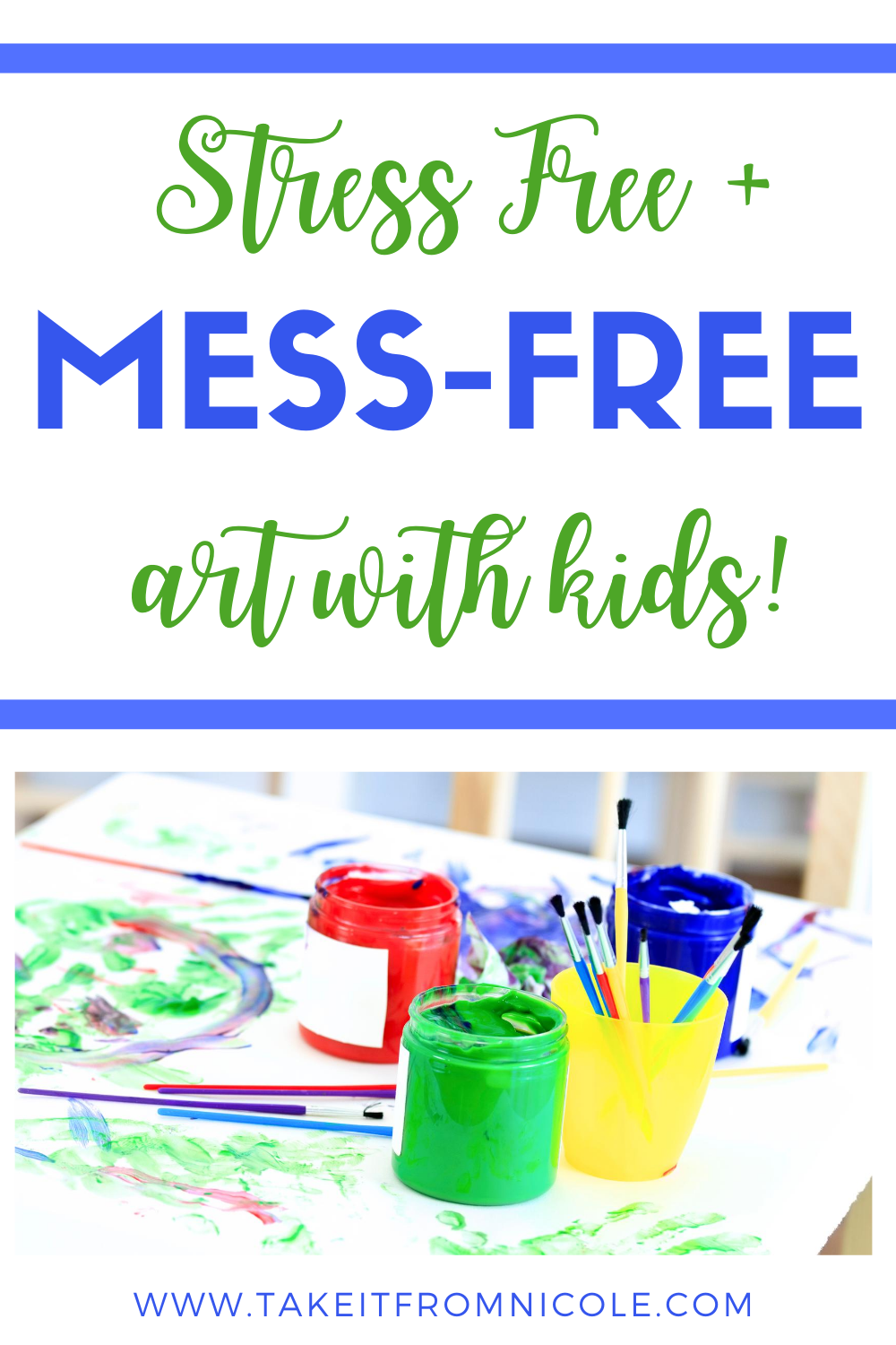 Doing art and having a creative outlet is SO good for kids but the mess can be so stressful for parents. These are some of my favorite tips, tricks, and supplies for less mess arts and crafts with kids and toddlers.