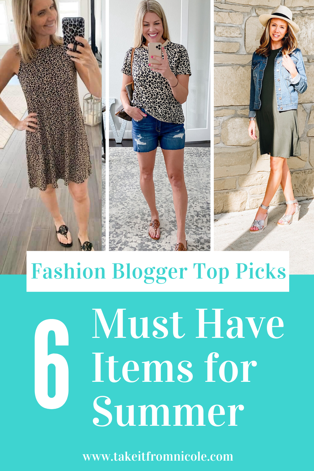 I asked my blogging friends what their top must-have fashion items were for summmer. Each of the featured items is under $40. Great way to round out your summer wardrobe on a budget!