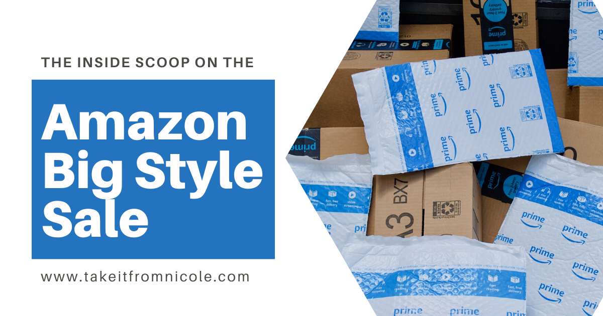 Amazon Big Style Sale 2020 Guide