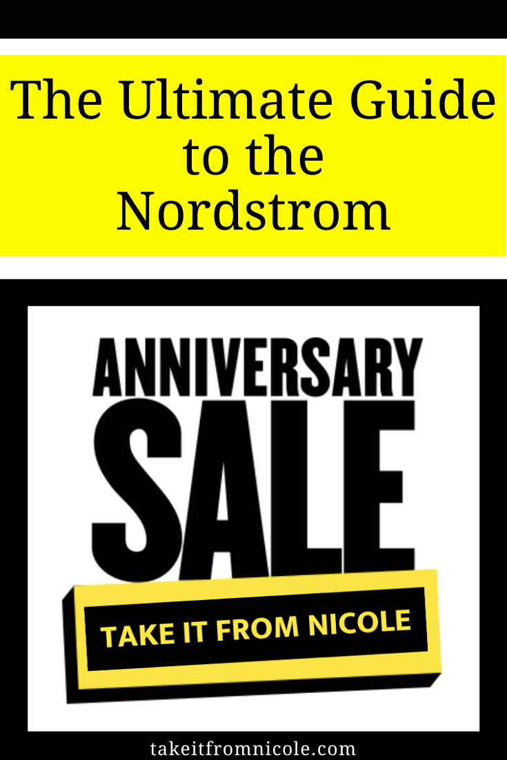 My 2020 Nordstrom Anniversary Sale Guide. All the tips and tricks for scoring what you want at amazing prices! Plus what's new this year and key dates for the sale.