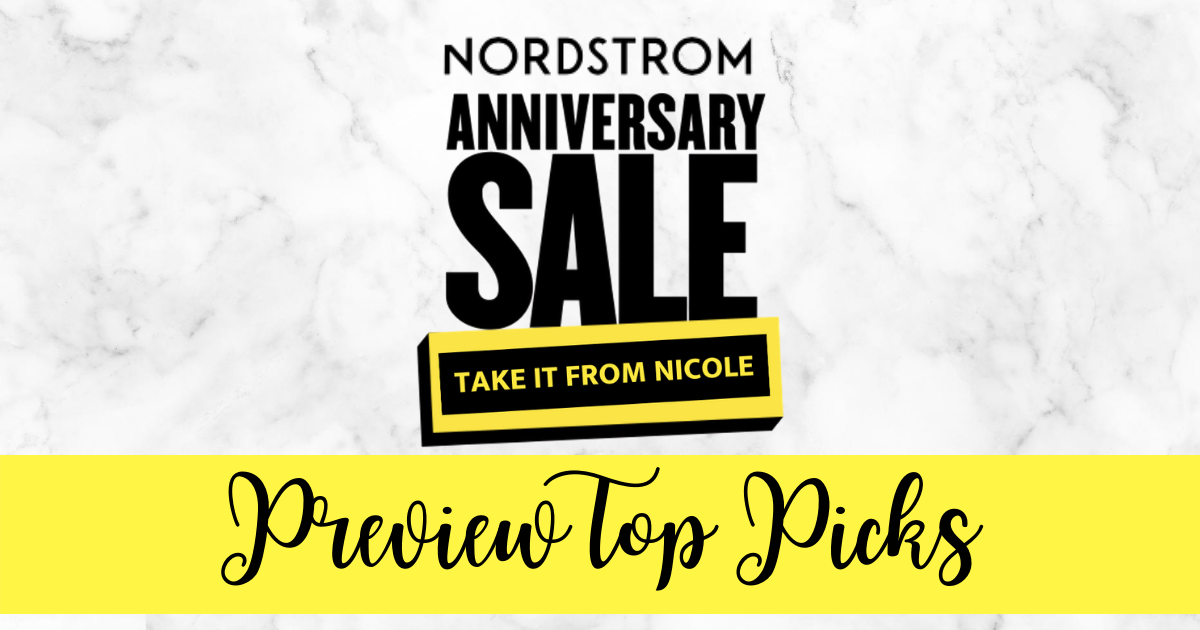I've scoured the Nordstrom Sale Preview for my favorite picks. Things are a bit different this year; we didn't get a paper catalog and the preview is live online for everyone. In general, I usually pick up some shoes, a few wardrobe staples, a few trendier items, and some beauty/make up items. These are all of my favorite items organized by category.