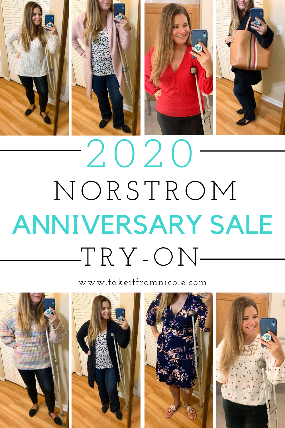 My 2020 Nordstrom Anniversary Sale try on post! Get the inside scoop on the best pieces and tips for fit and sizing. Always my favorite blog post of the year!