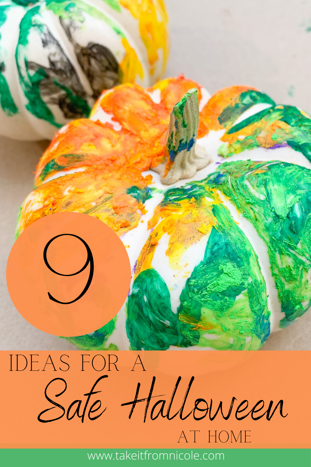 Halloween is going to be a bit different this year. Here are some fun ideas to have a safe, socially distant, spooky good time at home!
