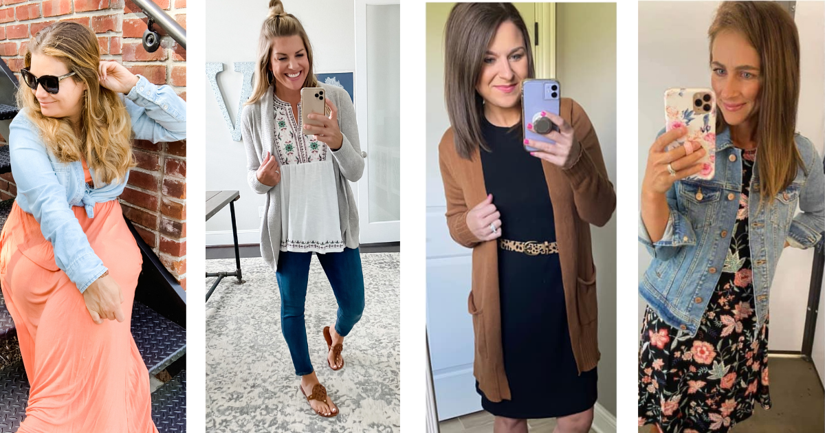 October Budget Friendly Fashion Round-Up: Transitional Pieces for Fall