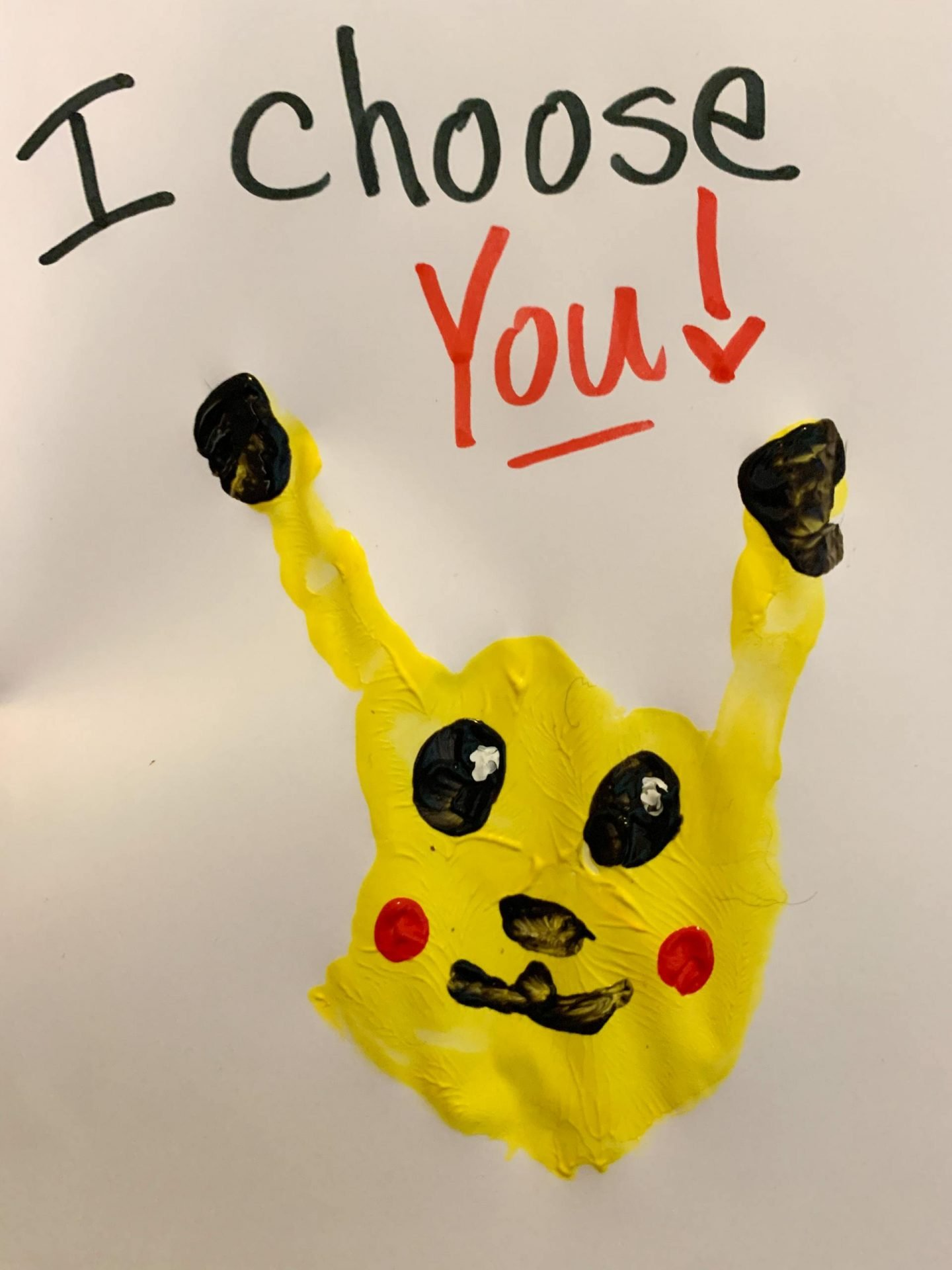 A Pokemon Valentine's Day handprint craft that is sure to be a crowd pleaser for both boys and girls. This cute little Pikachu is an easy and kid friendly activity for children.