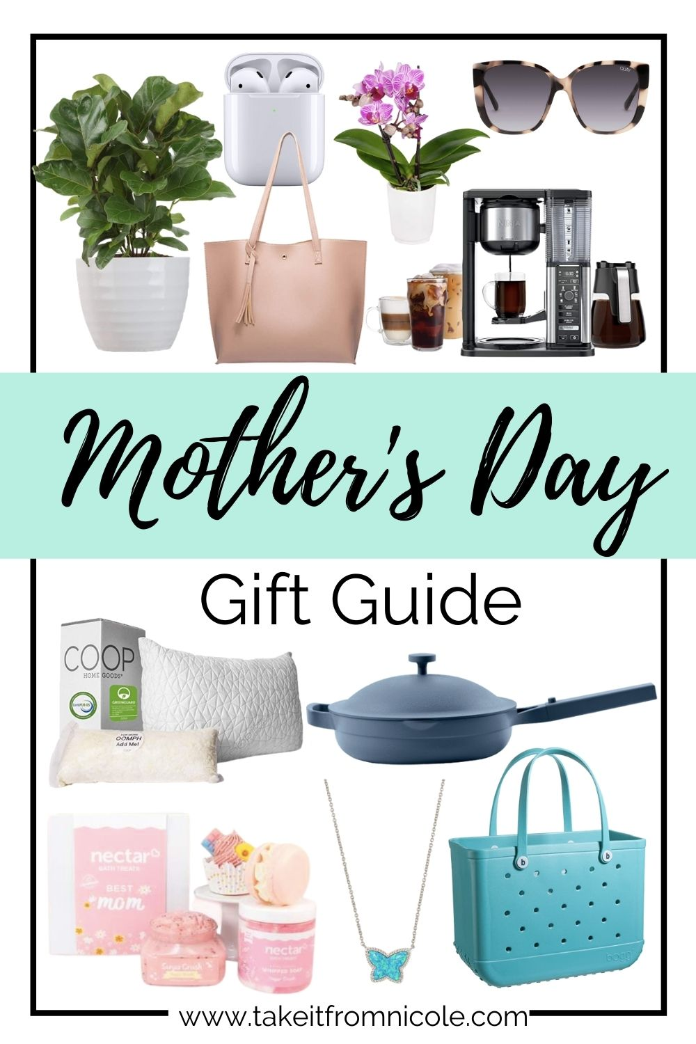 Mother's Day is quickly approaching and I've made presents easy with my Mother's Day Gift Guide! Ideas for any budget.