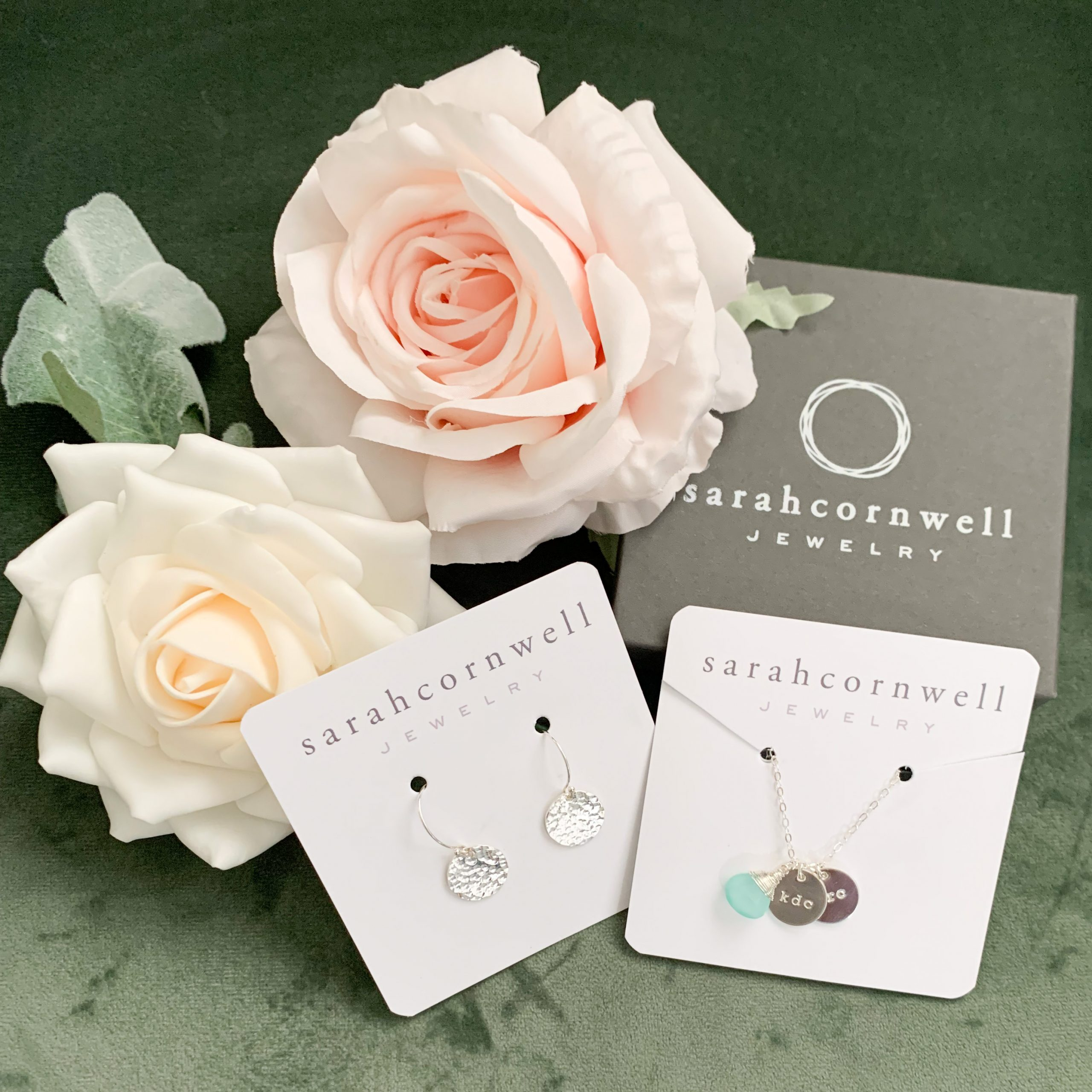 Personalized Jewelry from Sarah Cornwell